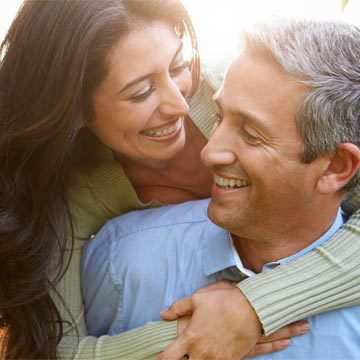 Chronic Pain Lockport IL Middle Aged Happy Couple