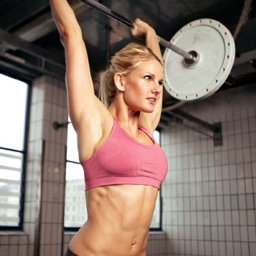 Chronic Pain Lockport IL Woman Lifting Weights